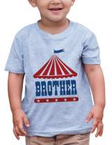 7 ate 9 Apparel Boy's Birthday Brother Circus T-Shirt