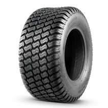 16x6.50-8 Tire, Turf Saver 16x6.5x8 Lawn Mower Tires 4PR Tubeless