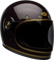 Bell Bullitt Carbon Full-Face Motorcycle Helmet (Transend Gloss Candy Red/Gold, X-Small)