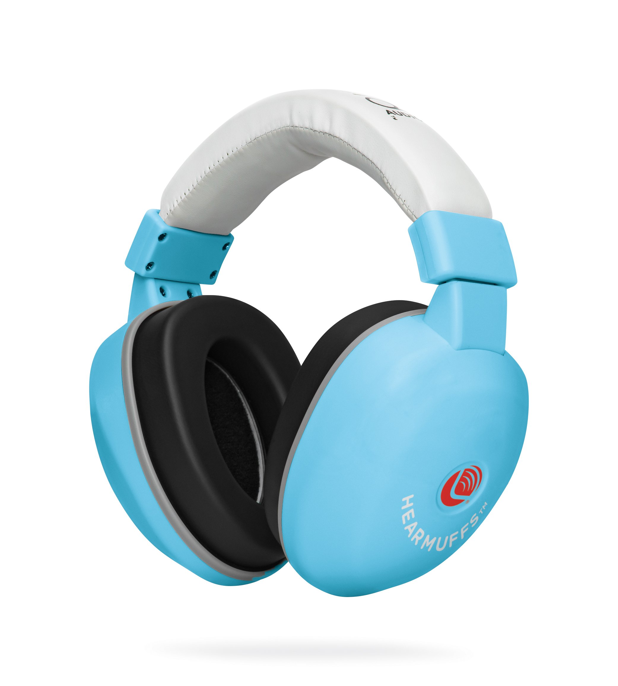 Lucid Audio HearMuffs Baby Hearing Protection (Over-The-Ear Sound Protection Ear Muffs Infant/Toddler/Child) (Pastel Blue), One Size