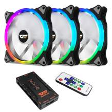 darkFlash CS140 140mm Addressable 3IN1 Addressable RGB Case Cooling Fans Quiet Edition for Computer Cases