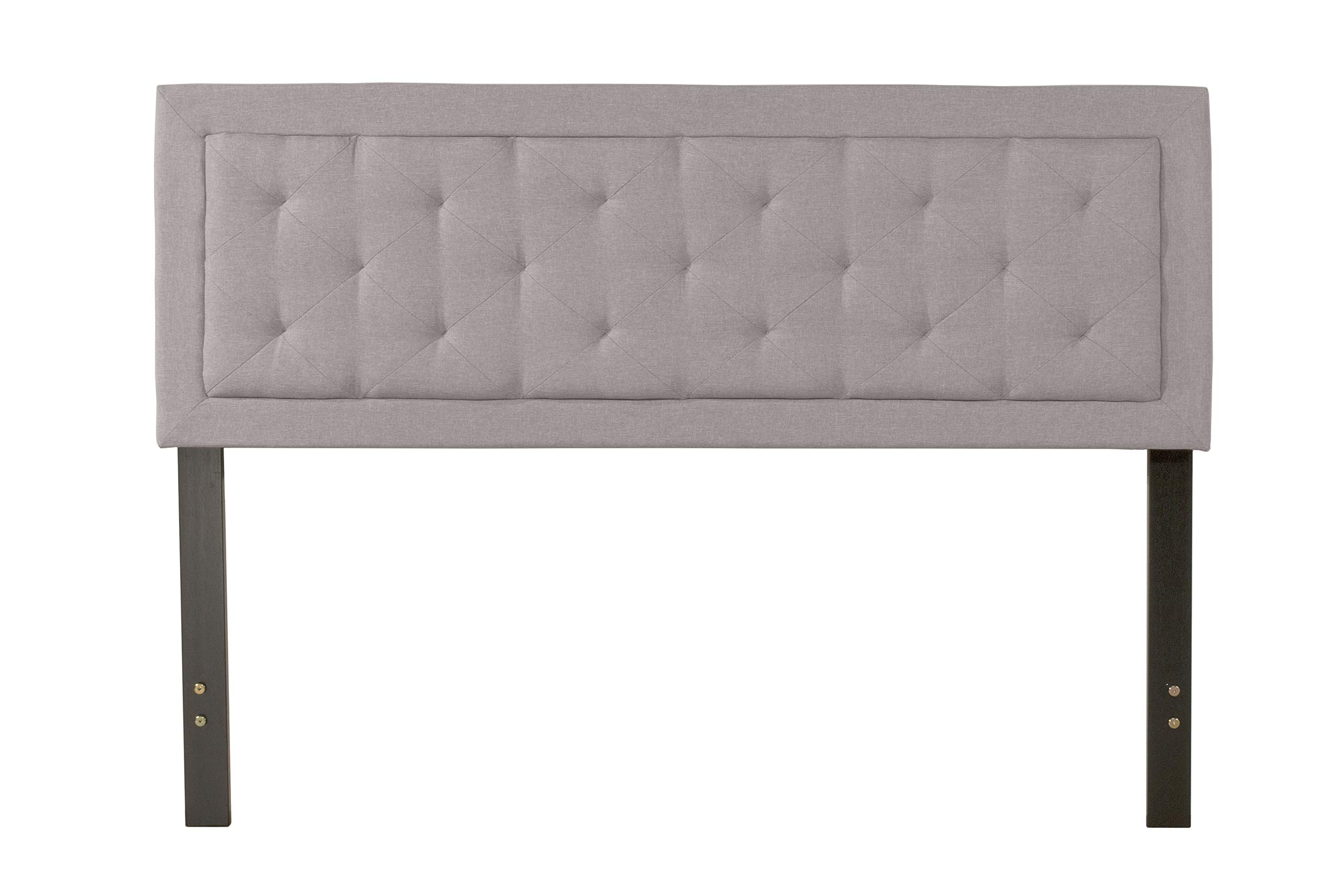 Hillsdale Furniture La Croix Headboard Without Frame, Full/Queen, Glacier Gray