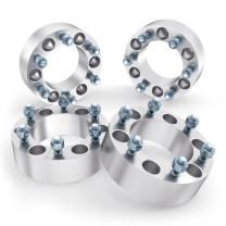 RockTrix 2 inch Wheel Spacers (6x5.5 to 6x5.5, 108mm Bore, 14x1.5 Studs) Compatible with Cadillac Escalade Chevy Avalanche Silverado 1500 Tahoe GMC C2500 Yukon Sierra Trucks (6x139.7, 50mm, 4pcs)