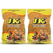 JK YELLOW MUSTARD SEED 7.05 Oz, 200g, Non-GMO, Gluten Free and NO Preservatives!