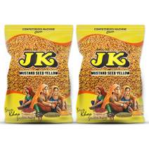 JK YELLOW MUSTARD SEED 7.05 Oz, 200g, Non-GMO, Gluten Free and NO Preservatives!