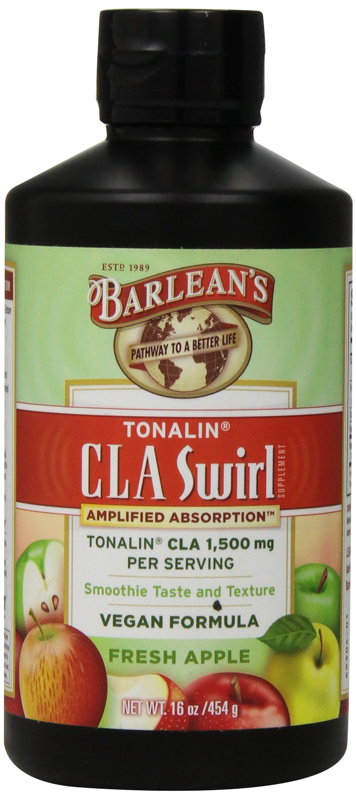 Barlean's Organic Oils Tonalin CLA Swirl, 16 Ounce