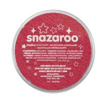 Snazaroo Face and Body Paint, 18ml, Sparkle Red, 6 Fl Oz