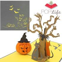 PopLife Pumpkin & Tree Halloween Pop Up Card, 3D Card - Dia de los muertos