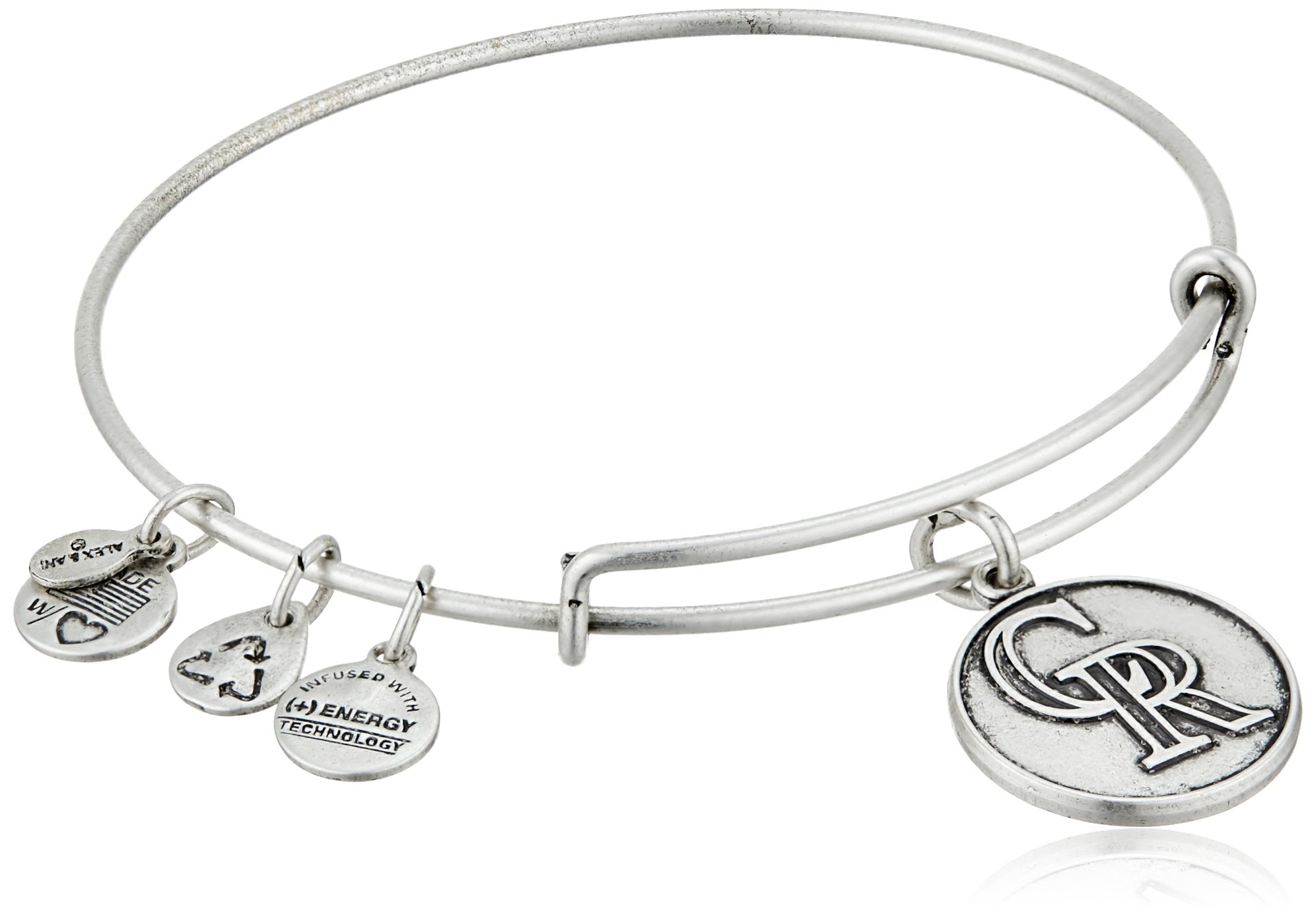 Alex and Ani Colorado Rockies Cap Logo Expandable Bangle Bracelet