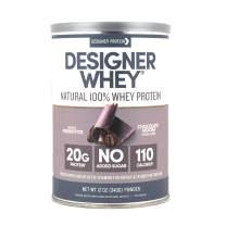 Designer Whey Protein Powder, Chocolate Mocha, 12 Ounce, Non GMO,  Made in the USA
