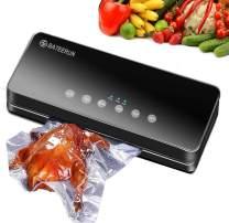 Vacuum Sealer Machine, Automatic Food Sealer for Food Savers, Compact Design Air Sealing System BATEERUN