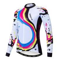 Women's Cycling Jersey Long Sleeve Bike Jacket Biking Shirt Bicycle Clothing