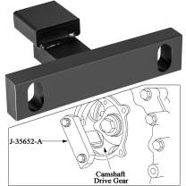 Cam Gear Retaining Tool J-35652-A Compatible with M30116 Detroit Diesel Engines 60 Series