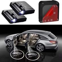 Bearfire Car Door Lights Logo Fit Jaguar Car Door Projector Light Led Welcome Lights Car logo Suitable For All Models (2Pcs)