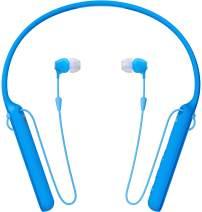 Sony - C400 Wireless Behind-Neck in Ear Headphone Blue (WIC400/L)