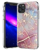 iPhone 11 Pro Case 5.8 inches,Spevert Marble Pattern Hybrid Hard Back Soft TPU Raised Edge Ultra-Thin Shock Absorption Slim Case Compatible for iPhone 11 Pro 5.8 inch 2019 Released (Colorful)