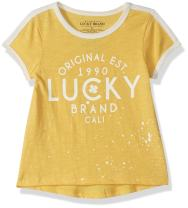 Lucky Brand Toddler Girls' Graphic Tee