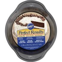 "Wilton 2105-6975 Perfect Results Round Cake Pan, 6"" x 2"""