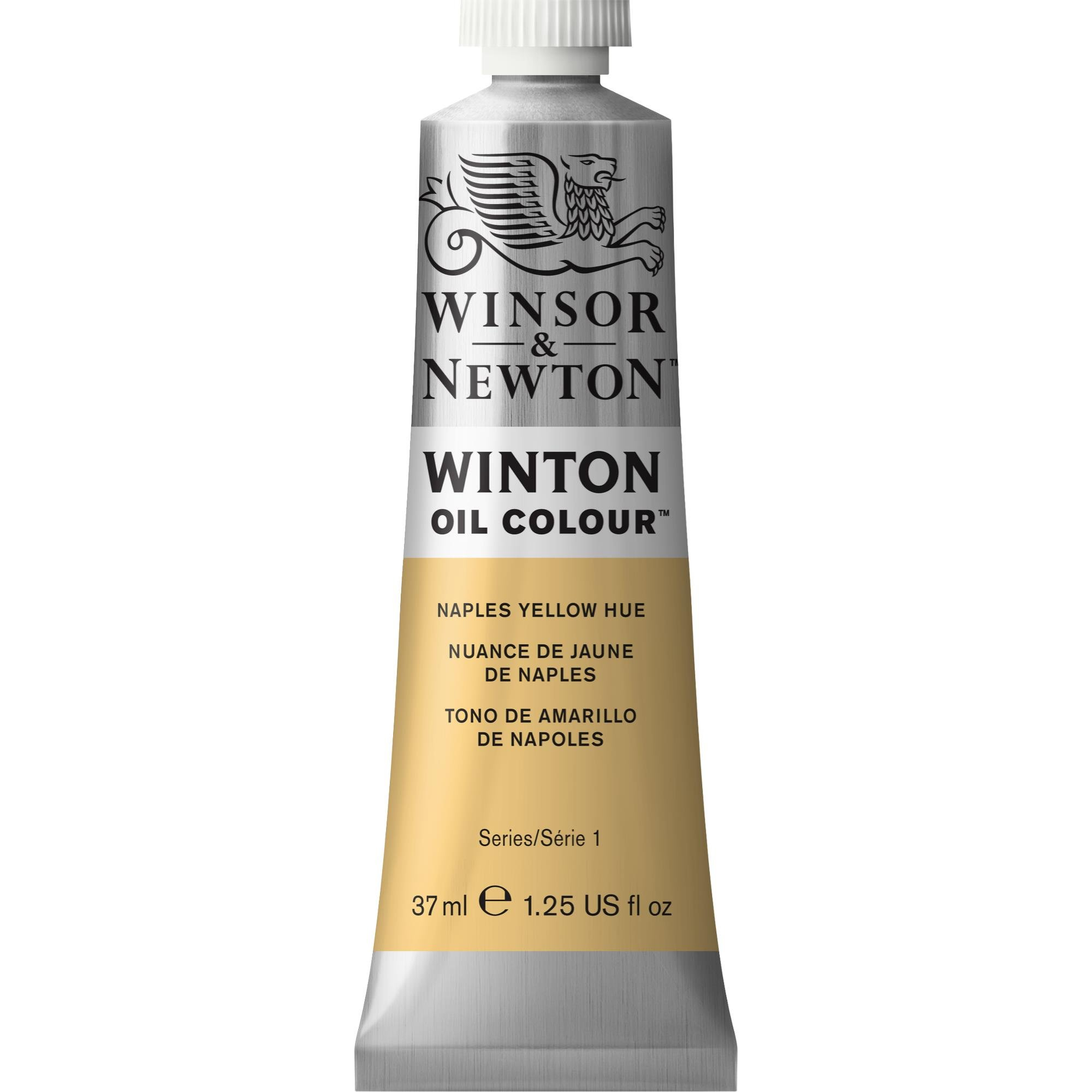 Winsor & Newton Winton Oil Colour Paint, 37ml tube, Naples Yellow Hue