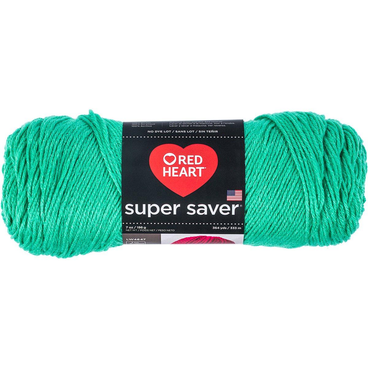 Red Heart Super Saver Yarn, Solid - Freshmint