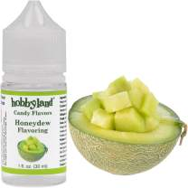 Hobbyland Candy Flavors (Honeydew Flavoring, 1 Fl Oz), Honeydew Concentrated Flavor Drops