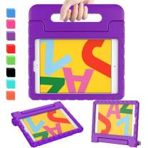 """AVAWO Kids Case for New iPad 10.2"""" 2019 - Light Weight Shock Proof Convertible Handle Stand Kids Friendly Case for iPad 2019 10.2-inch Tablet (New iPad 7th Generation) - Purple"""