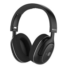 DOSS Active Noise Cancelling Bluetooth Headphones, Wireless Stereo Over Ear Headsets with Microphone, Protein Earpads, Apt-X HiFi Sound, 20 Hours Long Life for Phone Tablet Laptop PC - Black
