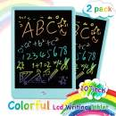 ORSEN LCD Writing Tablet 2 Pack, 10 Inch Colorful Doodle Board Drawing Tablet, Educational Drawing Board Writing Pad, Boys Girls Toys Gifts for 2-6 Year Old Girls Boys(Blue 2 Pack)