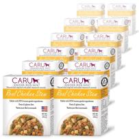 Caru - Real Chicken Stew For Dogs, Natural Adult Wet Dog Food With Added Vitamins And Minerals, Free From Grain, Wheat And Gluten (Pack Of 12)
