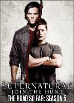 "Ata-Boy Supernatural Season 5 2.5"" x 3.5"" Magnet for Refrigerators and Lockers"