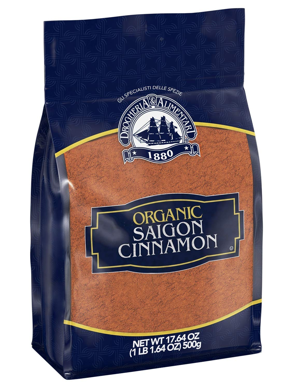Drogheria & Alimentari Organic Ground Saigon Cinnamon, 17.64 oz