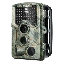"""ENKEEO 16MP Trail Game Camera 1080P HD Hunting Camera 47pcs 850nm IR Night Vision IP56 Water Resistant with 0.2s Trigger Time 2.4"""" LCD Screen"""