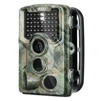 "ENKEEO 16MP Trail Game Camera 1080P HD Hunting Camera 47pcs 850nm IR Night Vision IP56 Water Resistant with 0.2s Trigger Time 2.4"" LCD Screen"