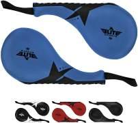 Elite Sports Taekwondo Kick Pads,Tae Kwon do Kick Pad,Pack of 2 Kick Pads,Kickboxing Target Pads,MMA Training Pads