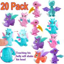 Building Blocks Figures Dinos Toy Deformation Dinosaur Unicorns Toy for Boys girls Mini Toy for Kids Easter Party Favors Transforming Dinosaurs Unicorns Figure toys for kids Building Blocks Toys