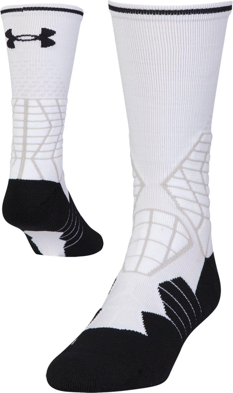 Under Armour Men's Football Crew Socks, 1-Pair