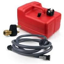 Five Oceans 3 Gallon Marine Portable Fuel Tank Kit (OMC/Evinrude/Johnson) 5/16 inches FO-4129-C22