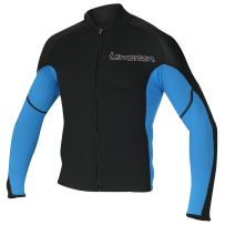 Lemorecn Men's 2mm Wetsuits Jacket Long Sleeve Neoprene Wetsuits Top