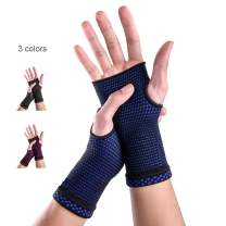 New Technology Medical Compression Wrist Brace Sleeves (Pair), Carpal Tunnel and Wrist Pain Relief Treatment,Wrist Support for Women and Men -Please Check Sizing Chart