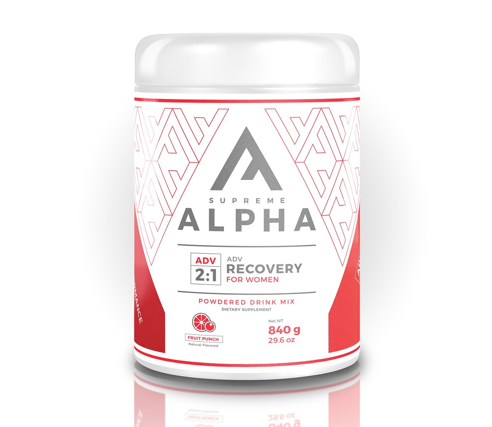 Supreme Alpha Advanced, Post Workout Recovery and Immune System Booster Supplement for Women, Muscle Builder with Protein Powder and Carbohydrates, BCAAs, Glutamine, Vitamin D,15 Large Servings