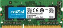 Crucial 2GB Single DDR3/DDR3L 1333 MT/s (PC3-10600) SODIMM 204-Pin Memory For Mac - CT2G3S1339M