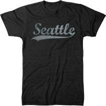 Seattle Swoosh Men's Modern Fit Tri-Blend T-Shirt