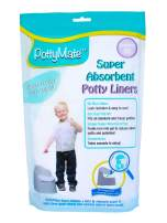 Disposable Potty Chair Liner – Pack of 36 Pottymate Liners with Super Absorbent Pad | Universal Toilet Seats Bags for Toddlers | Premium Liners That Fits All Potties – by Cleanis