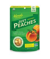 Karen's Naturals Just Tomatoes, Organic Just Peaches 1.2 Ounce Pouch (Pack of 3) (Packaging May Vary)