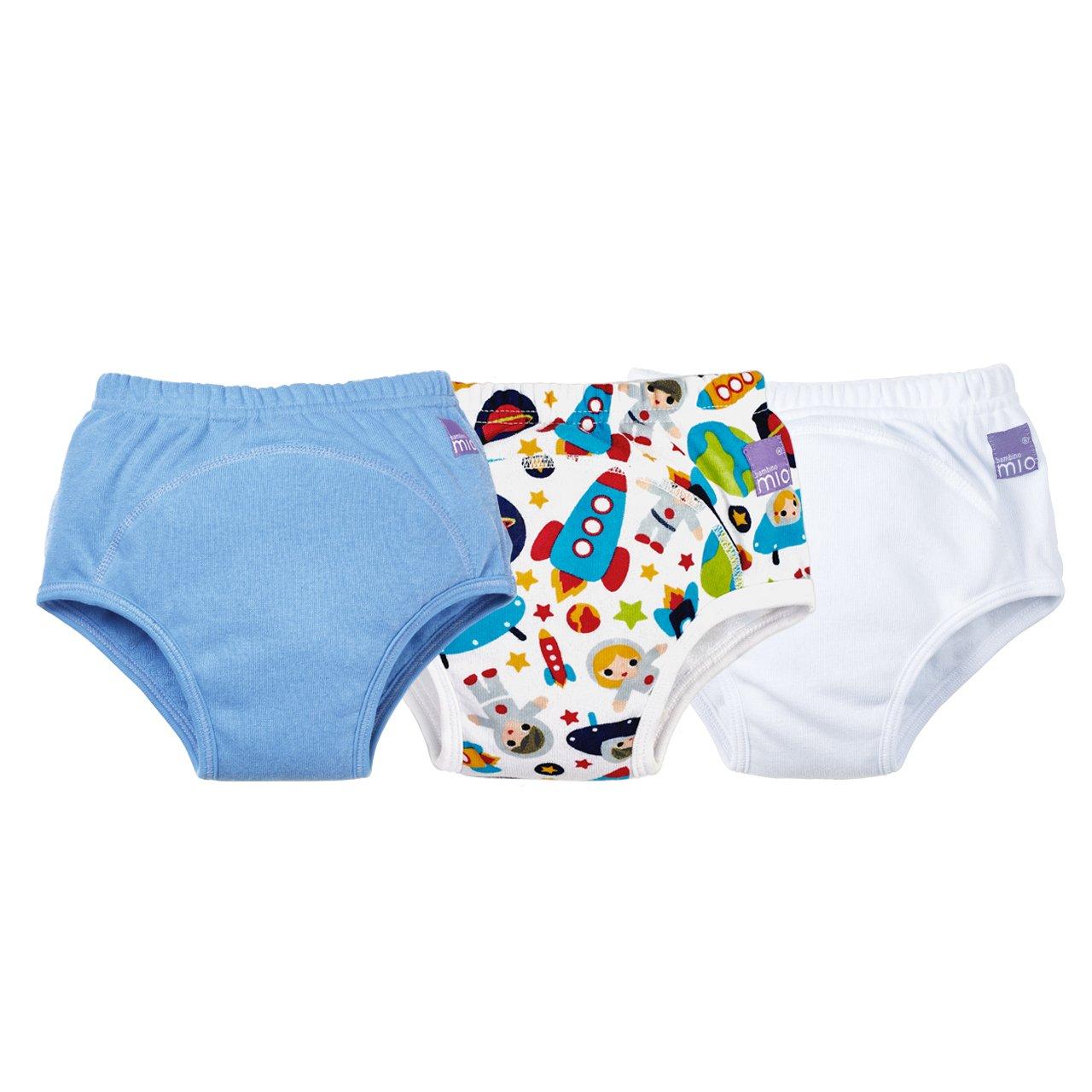 Bambino Mio, Potty Training Pants, Mixed Boy, 3+ Years, 3 Pack