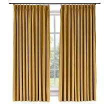 Macochico Room Darkening Velvet Curtains Pinch Pleated Drapes for Living Room Window Room Divider for Home Theater/Studio Curtains Drapes,72 x 96 Inch, Wheat(1 Panel)