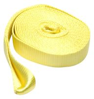 SmartStraps 20' Tow Strap with Loop Ends, Yellow– 17,000lb Break Strength, 5,660lb Safe Work Load – Recover Stuck Vehicles and Small Machinery - Ideal for Home, Auto, Commercial and Recreational Use