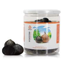 Mizzuco Black Garlic,460G/16.23 OZ WHOLE Black Garlic Natural Fermented for 90 days Healthy Snack Ready to Eat or Sauce