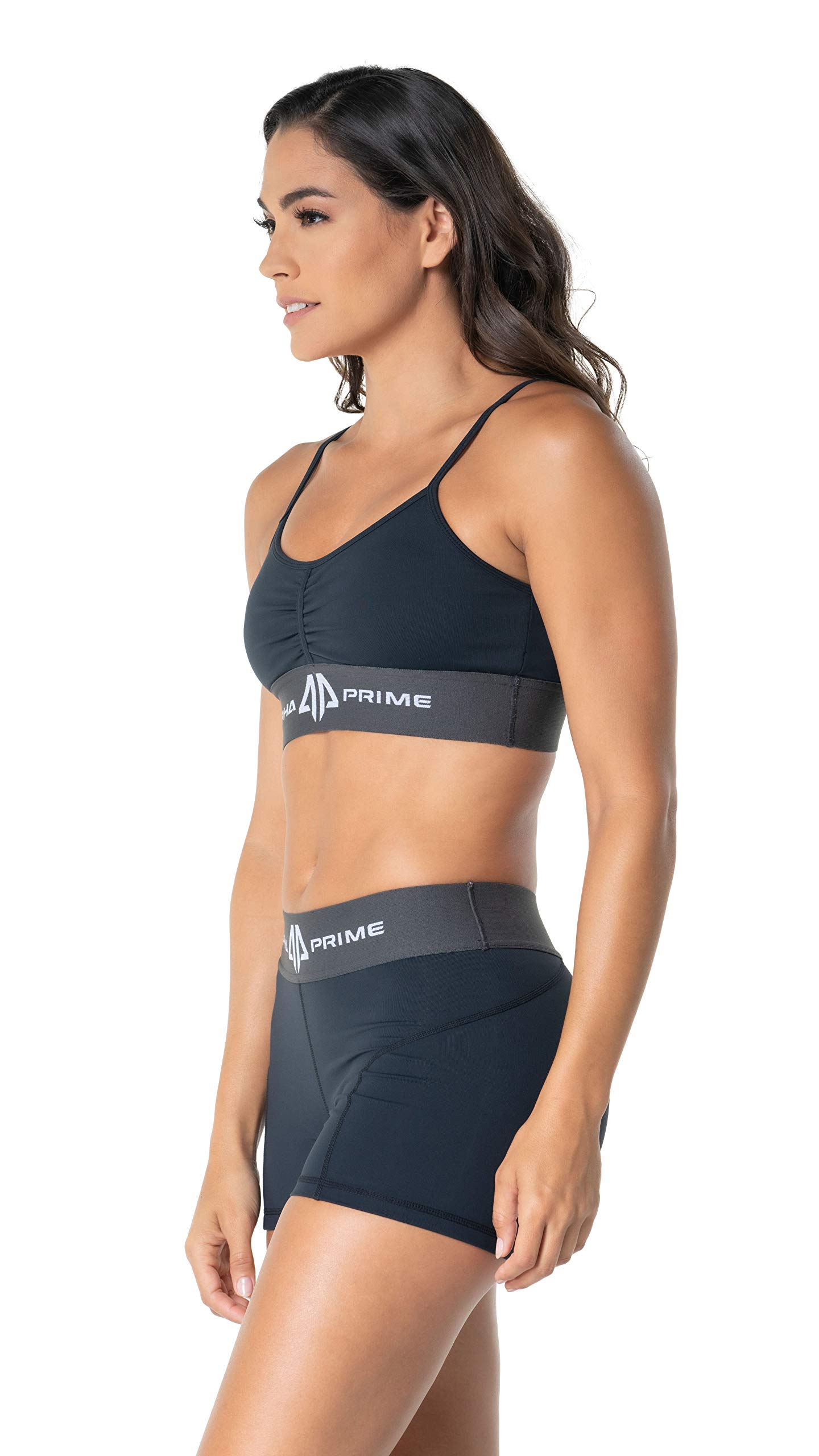 Alpha Prime Womens Lux Sports Bra