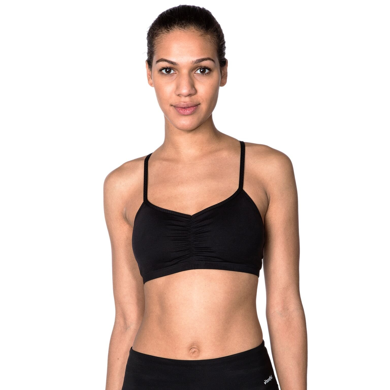 Handful Women's Adjustable Sports Bra with Removable Pads, Versatile Workout Bras
